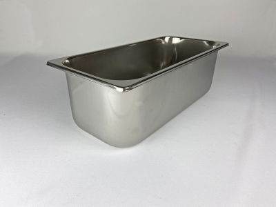 Gastronorm Behälter aus Edelstahl 12L lang